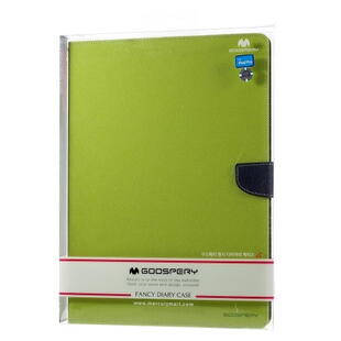 "Mercury Goospery Fancy Diary Case for iPad Pro 12.9"" (1. gen.) - Green/Dark Blue"