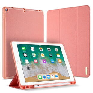DUX DUCIS Domo Series Tri-fold Case for iPad 9.7 2017/2018 Pink