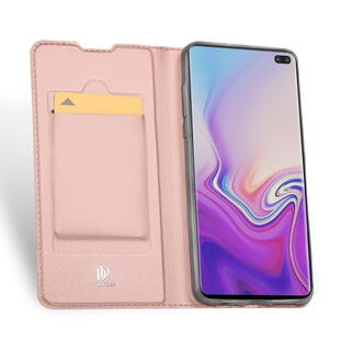 DUX DUCIS Skin Pro Flip Case for Samsung S10 Rose Gold