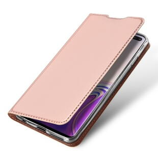 DUX DUCIS Skin Pro Flip Case for Samsung S10+ Rose Gold