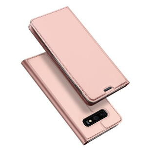 DUX DUCIS Skin Pro Flip Case for Samsung S10e Rose Gold