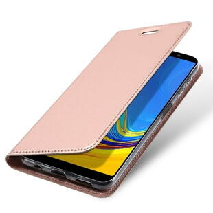 DUX DUCIS Skin Pro Flip Case for Samsung A7 (2018)  Rose Gold