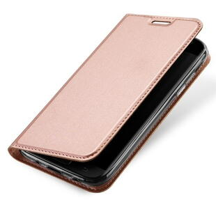 DUX DUCIS Skin Pro Flip Case for Samsung J5 (2017) Rose Gold
