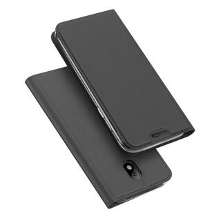 DUX DUCIS Skin Pro Flip Case for Samsung J3 (2017)  Dark Grey