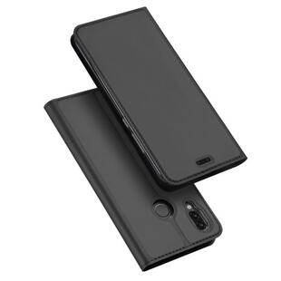 DUX DUCIS Skin Pro Flip Case for Huawei P20 Lite Dark Grey