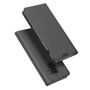 DUX DUCIS Skin Pro Flip Case for Samsung A8 (2018)  Dark Grey