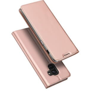 DUX DUCIS Skin Pro Flip Case for Samsung A8 (2018)  Rose Gold