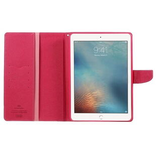 MERCURY Goospery Fancy Diary Case for iPad 9.7 2017/2018  - Pink/Red