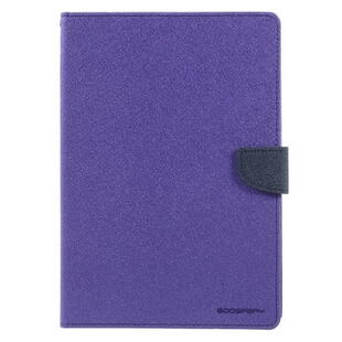 MERCURY Goospery Fancy Diary Case for iPad 9.7 2017/2018  - Purple/Black