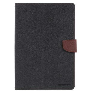 MERCURY Goospery Fancy Diary Case for iPad 9.7 2017/2018  - Black/Brown