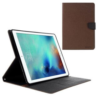 Mercury Goospery Fancy Diary Case for iPad Pro 9.7 Brown/Black