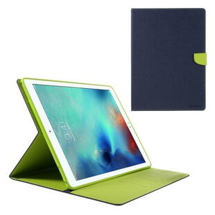 "Mercury Goospery Fancy Diary Case for iPad Pro 12.9"" (1. gen.) Dark Blue/Green"