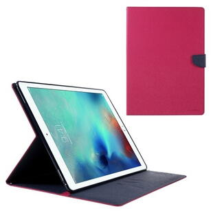 "Mercury Goospery Fancy Diary Case for iPad Pro 12.9"" (1. gen.) - Rose/Dark Blue"