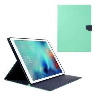 "Mercury Goospery Fancy Diary Case for iPad Pro 12.9"" (1. gen.) - Cyan/Dark Blue"