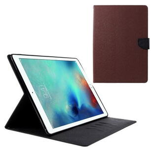 "Mercury Goospery Fancy Diary Case for iPad Pro 12.9"" (1. gen.)  Brown/Black"
