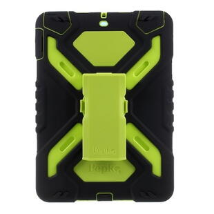 PEPKOO Spider Series for iPad 9.7-inch (2017/2018) Green/Black