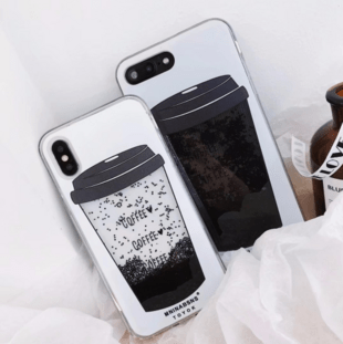 iPhone 6/6S TPU Case with Coffee animation