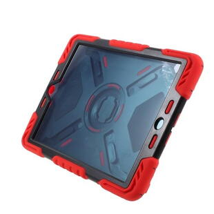 PEPKOO Spider Series for iPad 9.7-inch (2017/2018) Black/Red
