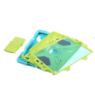 PEPKOO Spider Series for iPad 9.7-inch (2017/2018) Green/Blue