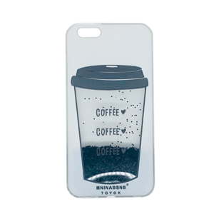 iPhone 6 Plus/6S Plus TPU Case with Coffee animation