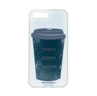 iPhone 7 Plus/8 Plus TPU Case with Coffee animation