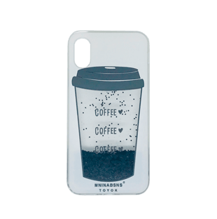 iPhone X TPU Case with Coffee animation
