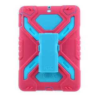 PEPKOO Spider Series for iPad 9.7-inch (2017/2018) Blue/Pink
