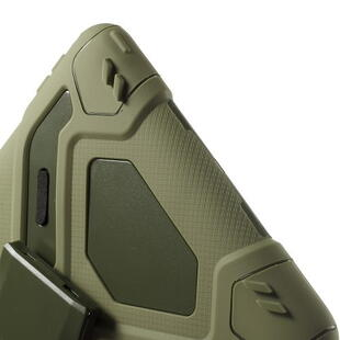 PEPKOO Spider Series for iPad 9.7-inch (2017/2018) Army Green