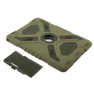 PEPKOO Spider Series for iPad Air 2 Army Green