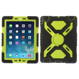 PEPKOO Spider Series for iPad 2/3/4 Green/Black