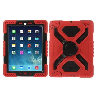PEPKOO Spider Series for iPad 2/3/4 Black/Red