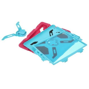 PEPKOO Spider Series for iPad 2/3/4 Blue/Pink