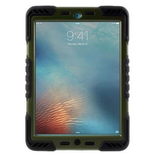 "PEPKOO Spider Series for iPad Pro 9.7"" Army Green/Black"
