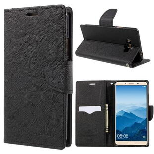 MERCURY GOOSPERY Fancy Diary Case for Huawei Mate 10 Black