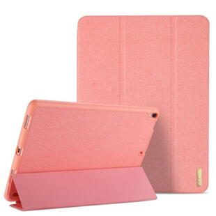 DUX DUCIS Domo Series Tri-fold Case for iPad Pro 12.9 2017 with Pen Slot Pink