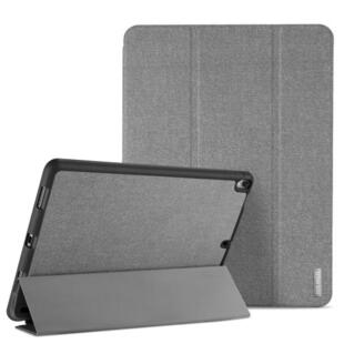 DUX DUCIS Domo Series Tri-fold Case for iPad Pro 12.9 2017 with Pen Slot Grey