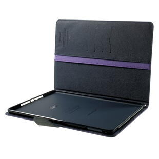 "Mercury Goospery Fancy Diary Case for iPad Pro 9.7"" - Purple/Black"