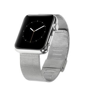 Apple Watch 42mm og 44mm Mesh Band Silver