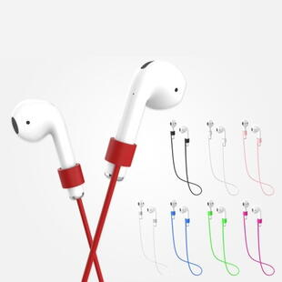 Apple AirPods Silicone Rope Strap Red
