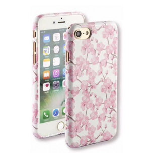 Flower Hard Case with Cherry Blossoms for iPhone 7 Plus/8 Plus Pink