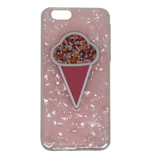 iPhone 7/8  Ice Cream Soft TPU Case Pink