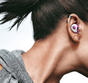 True Wireless Bluetooth Headset for Android/iOS in Purple