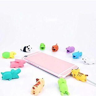 CABLE BITES - Cable Protector Animals - Assorted per. 1 pcs.