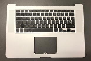 MacBook Pro 15'' A1398 Keyboard w/frame Nordic Layout Silver