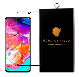 Nordic Shield Samsung Galaxy A70 Screen Protector 3D Curved (Blister)