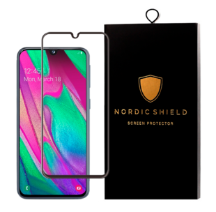 Nordic Shield Samsung Galaxy A40 Screen Protector 3D Curved (Blister)