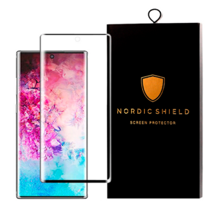 Nordic Shield Samsung Galaxy Note 10 Screen Protector 3D Curved (Blister)