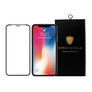 Nordic Shield Apple iPhone 11/XR 3D CurvedScreen Protector Black (Blister)