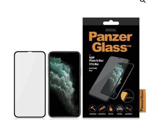 PanzerGlass Apple iPhone XS Max/11 Pro Max Case Friendly Black
