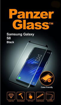 PanzerGlass Samsung Galaxy S8 Case Friendly Black